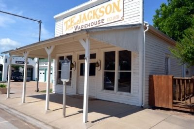 Front Facade of Jackson Warehouse image. Click for full size.