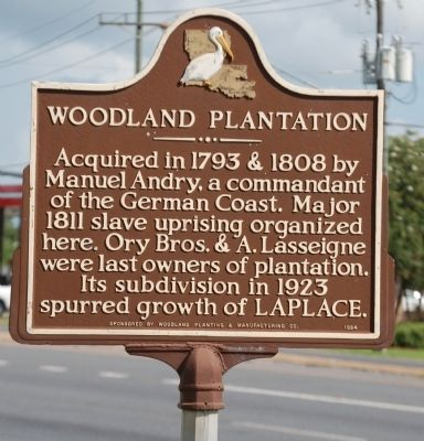 Woodland Plantation Marker image. Click for full size.