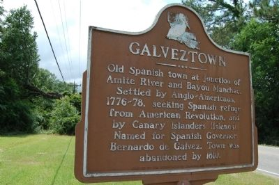 Galveztown Marker image. Click for full size.