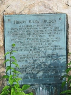 Henry Shaw Briggs Marker image. Click for full size.