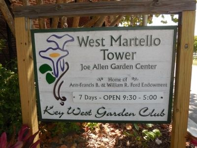 West Martello sign image. Click for full size.