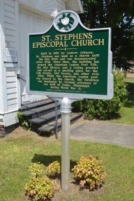 St. Stephens Episcopal Church Marker image. Click for full size.