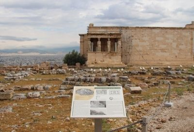 "The ""Old Temple"" of Athena Marker image. Click for full size."