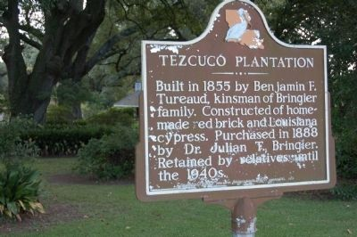 Tezcuco Plantation Marker image. Click for full size.