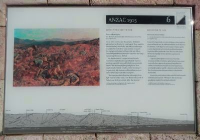 Lone Pine and the Nek / Lone Pine ve Nek Marker, panel #6 image. Click for full size.