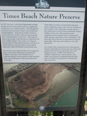 Times Beach Nature Preserve Marker image. Click for full size.