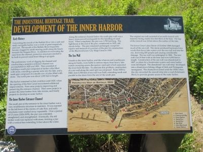 Development of the Inner Harbor Marker image. Click for full size.