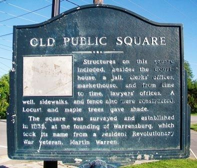 Old Public Square Marker image. Click for full size.