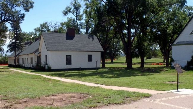 Buildings 17 - 20 Fort Stanton Historic Site and Marker image. Click for full size.