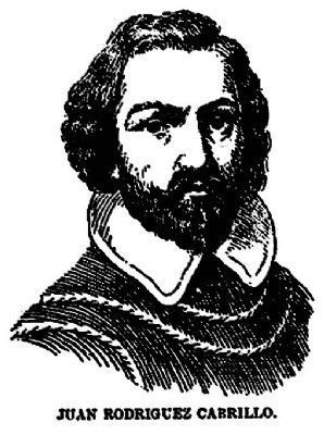 Juan Rodriguez Cabrillo image. Click for full size.