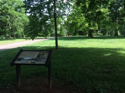 Wide view of The Hermitage Landscape Marker image. Click for full size.