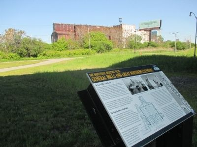 Great Northern Elevator & Marker image. Click for full size.