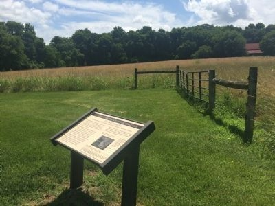 Wide view of Land Conservation at The Hermitage Marker image. Click for full size.