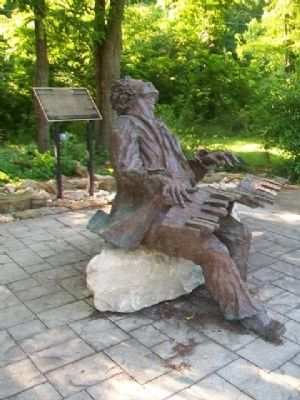 John William Boone Sculpture and Marker image. Click for full size.