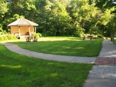 Blind Boone Park Gazebo image. Click for full size.