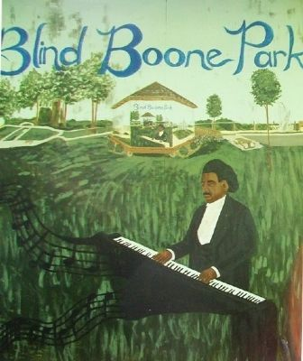 Blind Boone Park Mural image. Click for full size.
