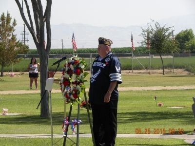 South Kern Cemetery District Memorial Day May 25,2015 image. Click for full size.