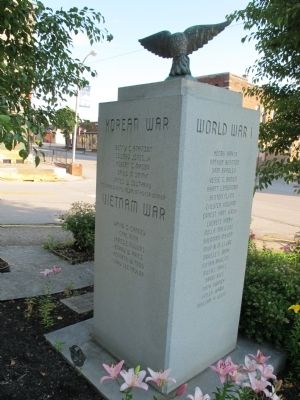 Rockcastle Co. War Memorial Marker image. Click for full size.