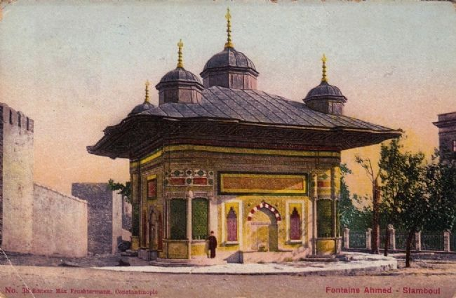 <i>Fontaine Mehmed - Stamboul</i> image. Click for full size.