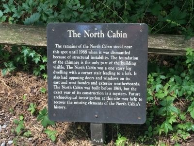 The North Cabin Marker image. Click for full size.