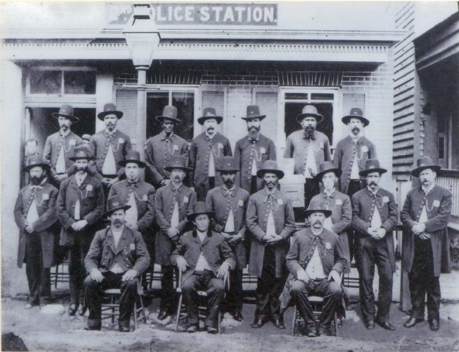 Police Officers, 1878 image. Click for full size.