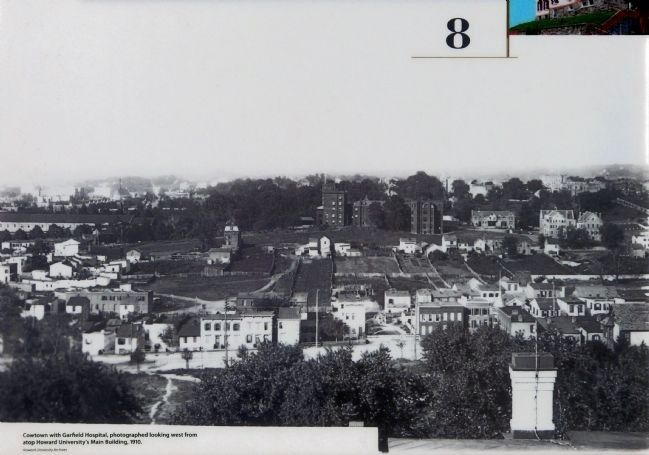 Cowtown and Garfield Hosptial image. Click for full size.