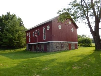 Troxell-Steckel Farm-Barn image. Click for full size.