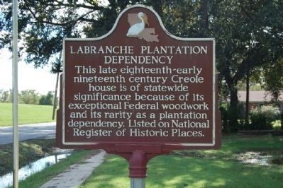 Labranche Plantation Dependency Marker image. Click for full size.