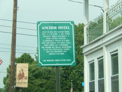 Anchor Hotel Marker image. Click for full size.