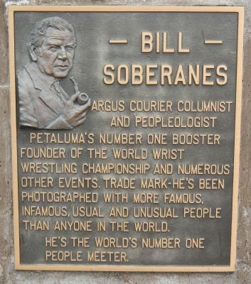 Bill Soberanes Marker image. Click for full size.