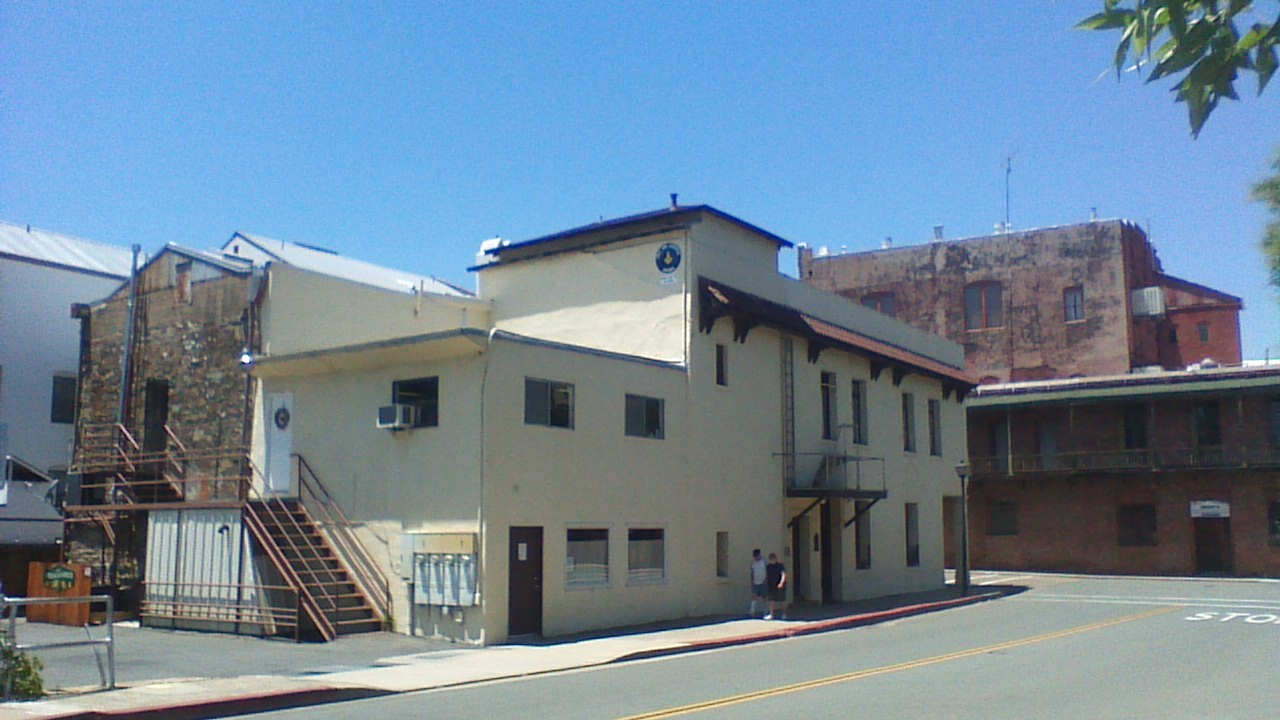 Masonic Hall & Court House