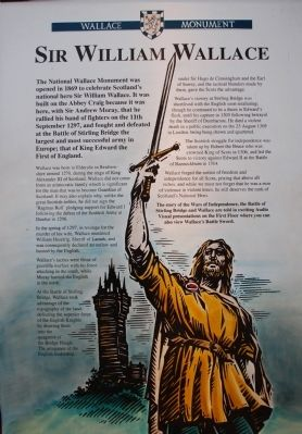 Wallace Monument Marker image. Click for full size.