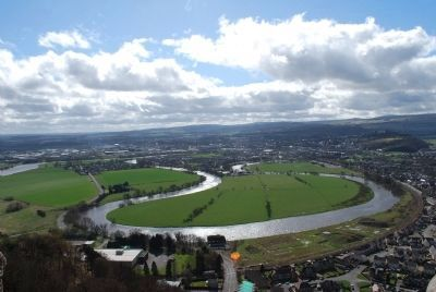 Atop the National Wallace Monument image. Click for full size.