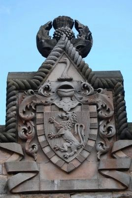 Wallace Coat of Arms image. Click for full size.