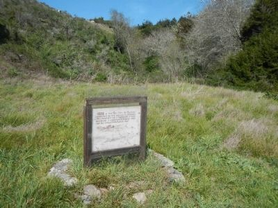 Second marker located at Fort Ross Cove image. Click for full size.