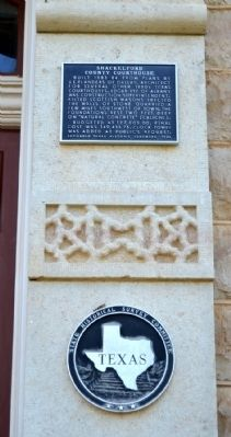 Shackelford County Courthouse Marker image. Click for full size.