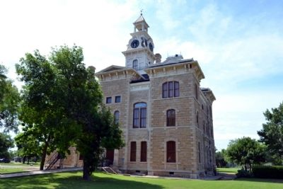 North Elevation of Shackelford County Courthouse image. Click for full size.