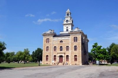 East Elevation of Shackelford County Courthouse image. Click for full size.