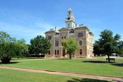 South Elevation of Shackelford County Courthouse image. Click for full size.