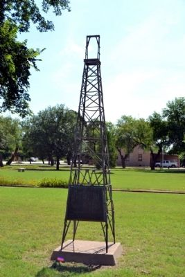 First Producing Oil Well in West Texas Marker image. Click for full size.
