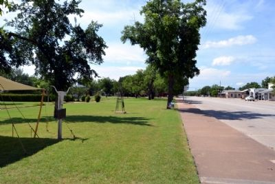 View to South Along Main Street (US 283) image. Click for full size.