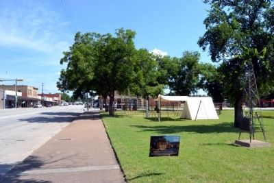 View to North Along Main Street (US 283) image. Click for full size.