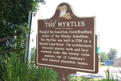 The Myrtles Marker image. Click for full size.