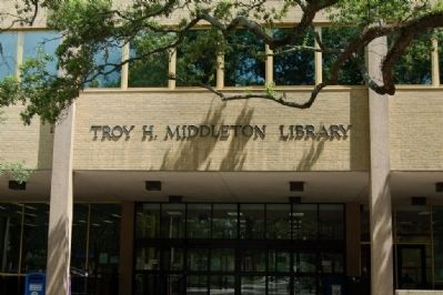 Troy H. Middleton Library image. Click for full size.