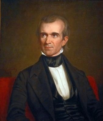James K. Polk image. Click for full size.