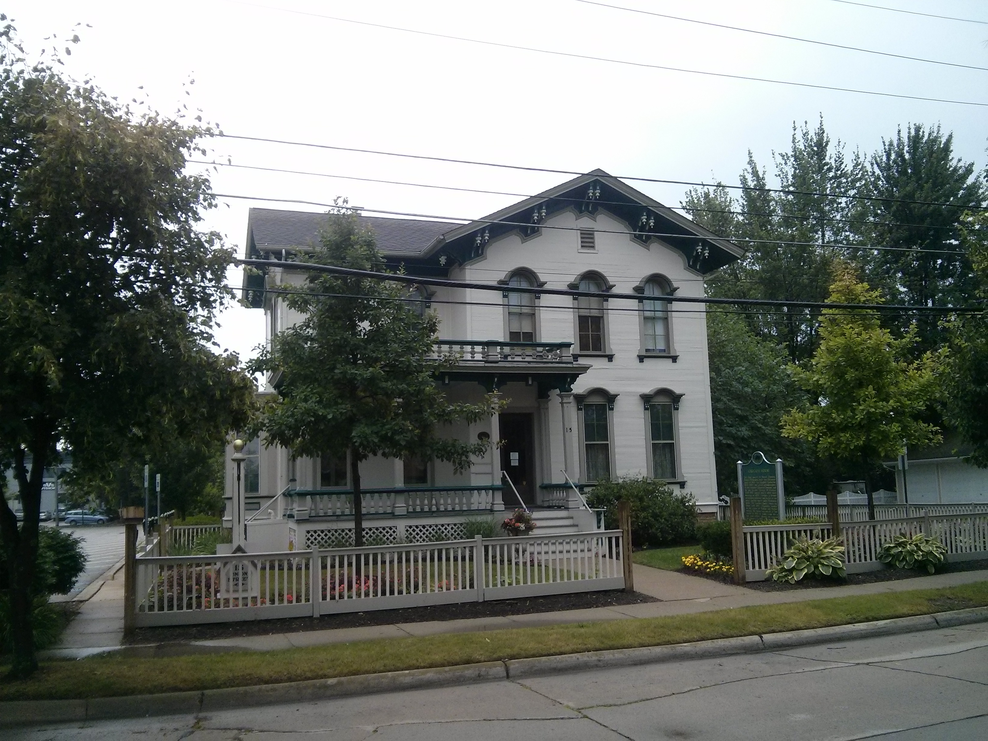 Crocker House and Marker