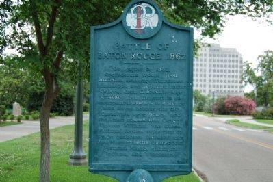 Battle Of Baton Rouge 1862 Marker image. Click for full size.