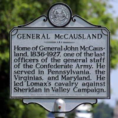 General McCausland Marker image. Click for full size.