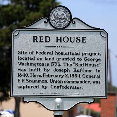 Red House Marker image. Click for full size.