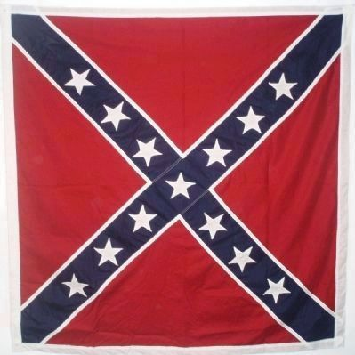 The Battle Flag of the Confederate Army of Northern Virginia image. Click for full size.